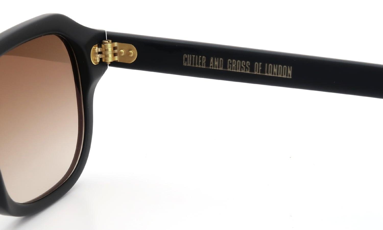 CUTLER AND GROSS 0822/S2 MATT-BLACK