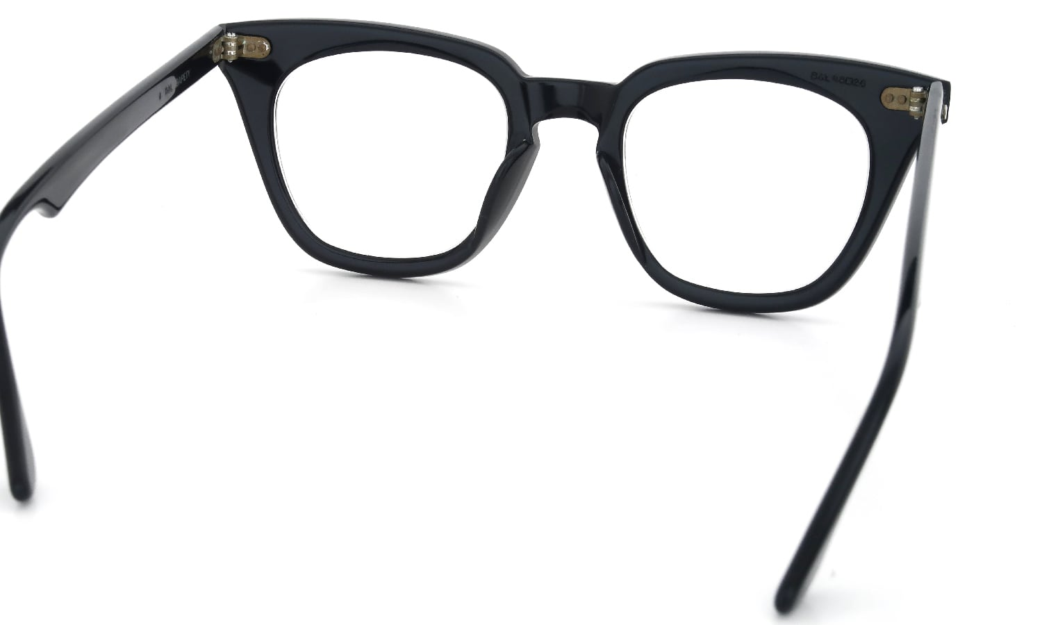 Bausch&Lomb vintage SAFETY BLACK クロス鋲 48-20