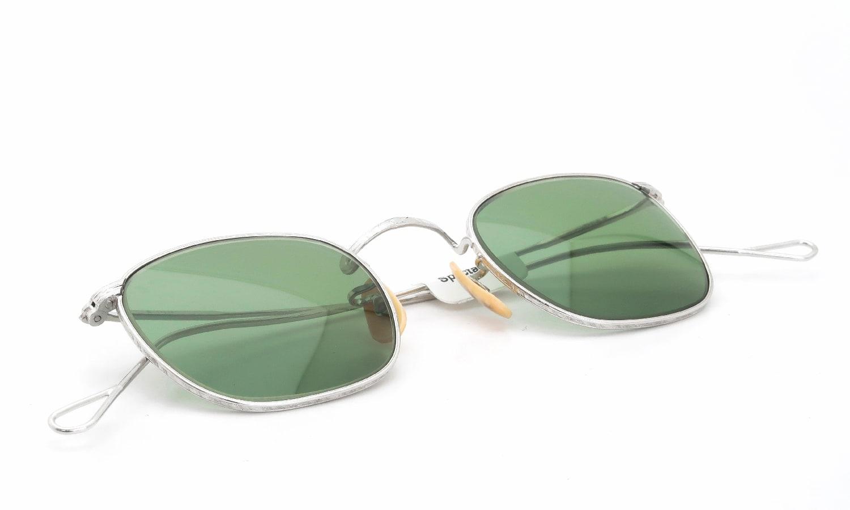 American Optical 1930s〜1940s Whitaker Full-Frame Ful-Vue WG 1/10 12KGF 45-23 Bottle-Green-Lens