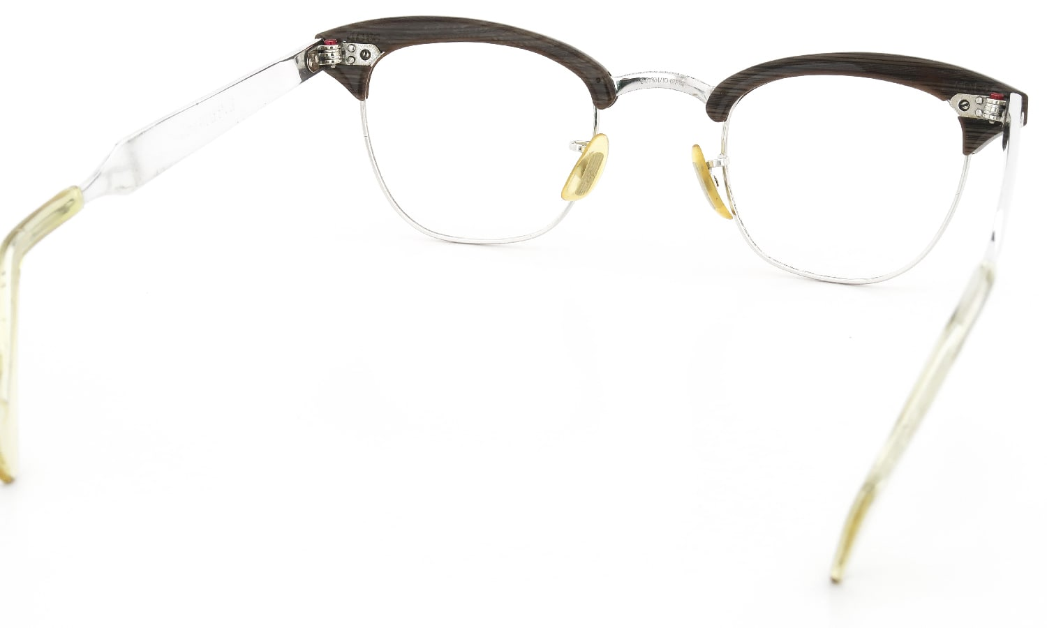 American Optical vintage マルコムX INFLUENTIAL E90 BROWNWOOD/Silvertone 44-24