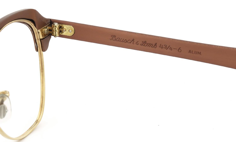 Bausch&Lomb vintage 1950s BALRIM Mat Copper/Yellow Gold 1/10 12KGF 46-18