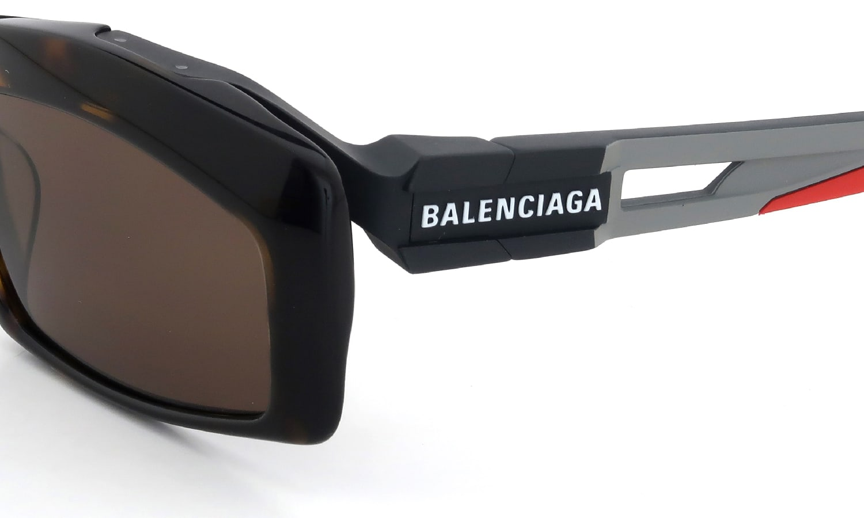 the best attitude fd4d5 acf5c BALENCIAGA バレンシアガ サングラス Hybrid-Rectangular BB0026S col.003