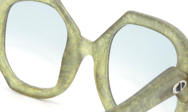 Vintage Christian Dior 1970s 2031-61 Optyl Leaf-Vein