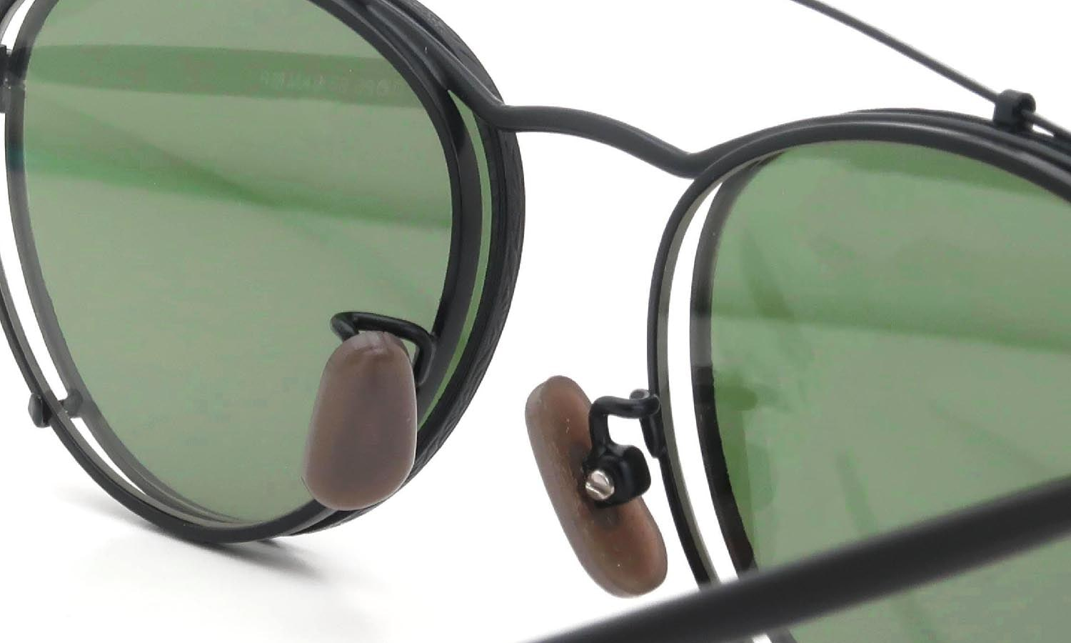 OLIVER PEOPLES 1990's OP-6 BK-MP with Clip