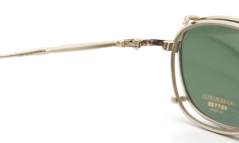 OLIVER PEOPLES 1990's OP-571 G with-clip V.Green Lens