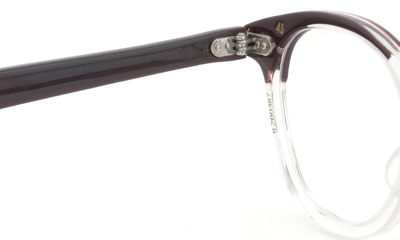The Spectacle/TART Optical vintage LEADING-LIZ BROWN-CRYSTAL 46-20
