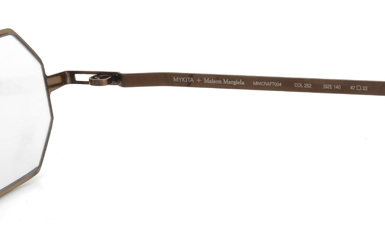 MYKITA+Maison Margiela MMCRAFT004 COL.252 Shiny Copper