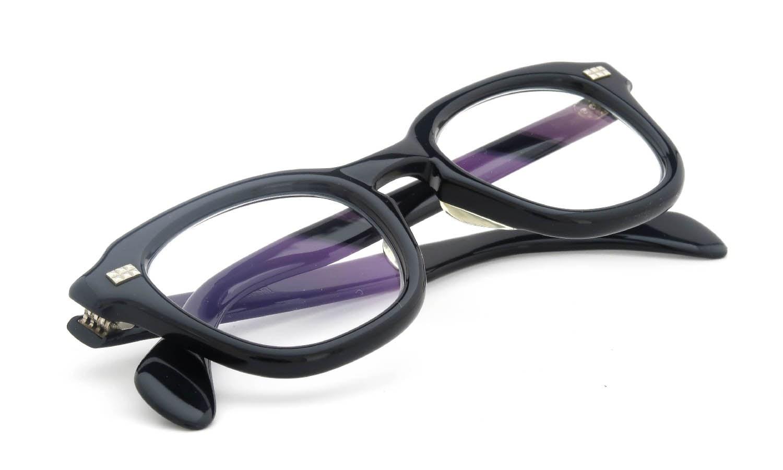 American Optical vintage 1960s Studs-Ribet Black 44-22