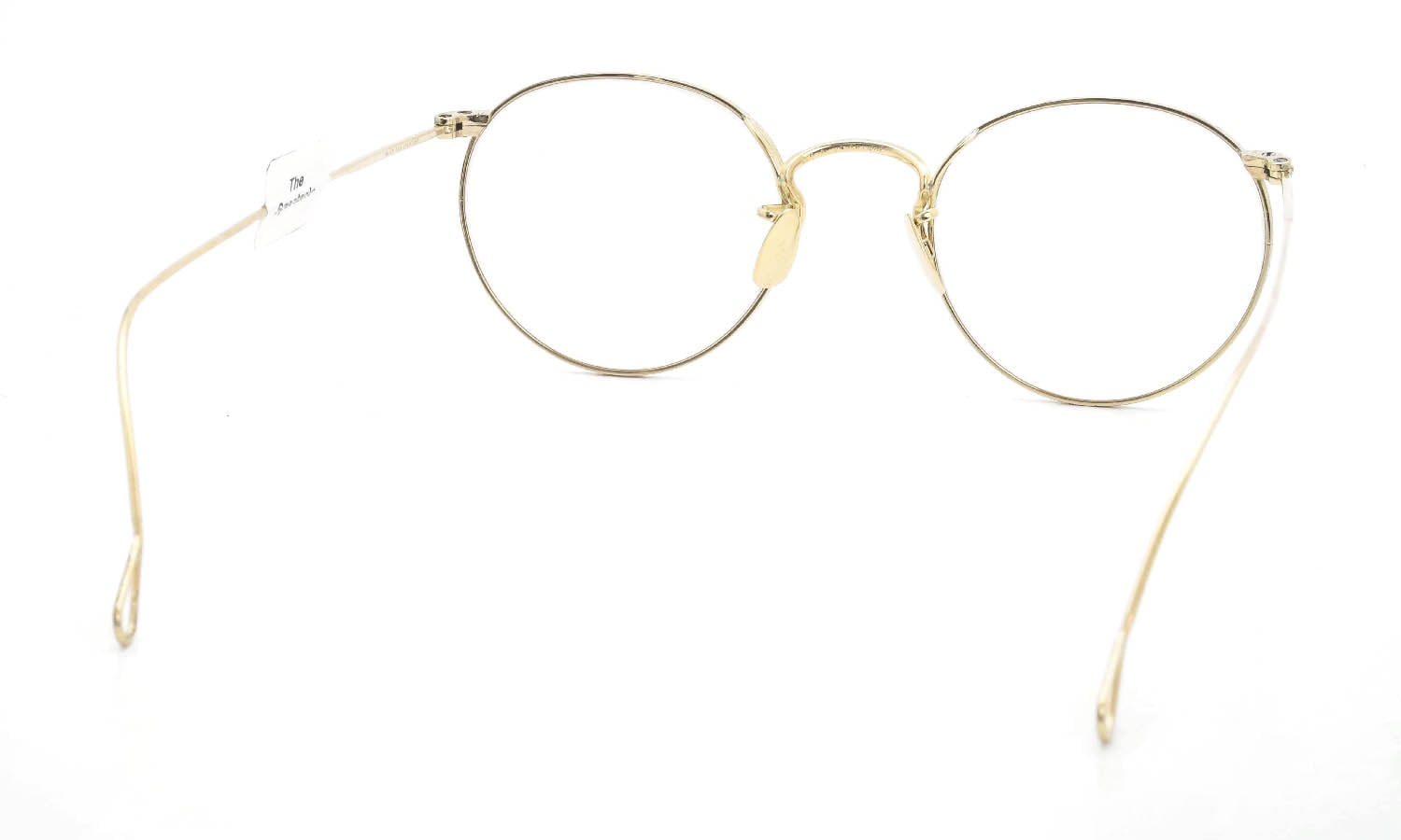 Artcraft Optical 1937 Artbilt P-5 YG 1/10 12KGF 46-22 12k-Solid-Gold-Nose-pad