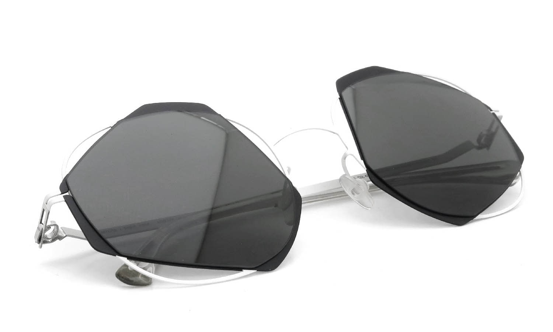 MYKITA / DAMIR DOMA Limited Edition Set ACHILLES Antique-White/Black Lens. Dark-Grey-Solid