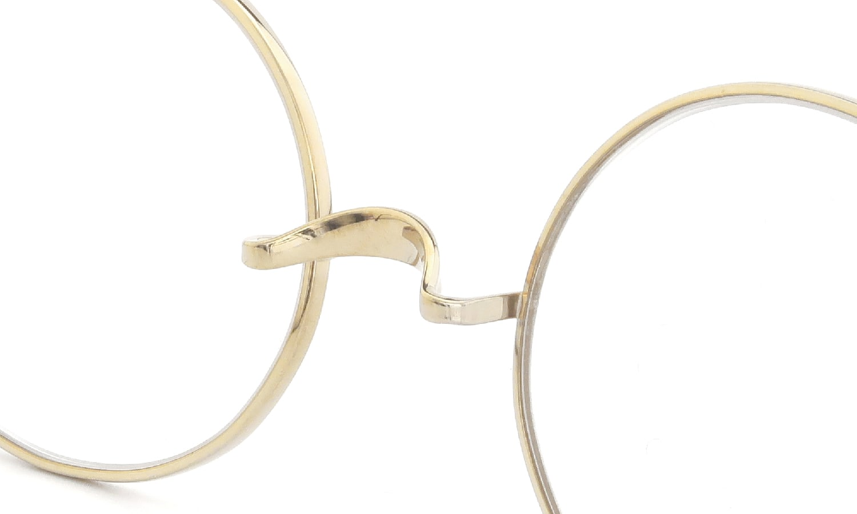 Oliver Goldsmith メガネ Oliver Oval/Pro  48size Titanium Gold