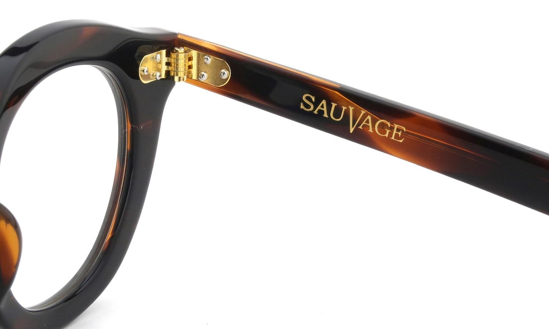 SAUVAGE MIKADO Deep-Brown/Pure-Gold