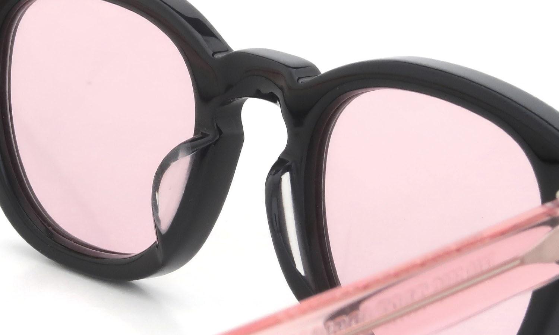 JULIUS TART OPTICAL × HYKE AR-44-22 Black/Flesh Pink