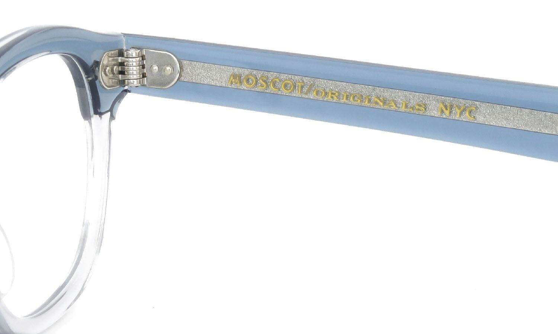 MOSCOT通販 LEMTOSH LIGHT BLUE-GREY 46size(M)