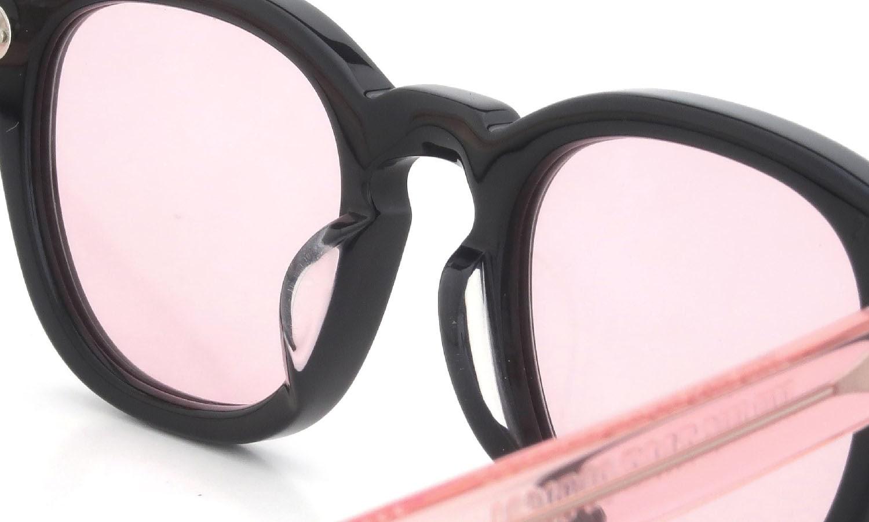 JULIUS TART OPTICAL × HYKE AR-46-22 Black/Flesh Pink