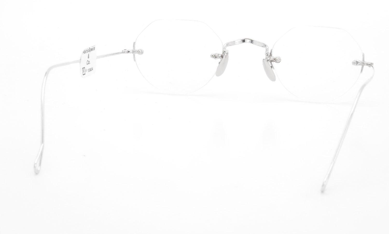American Optical 1930s 3-Piece Side-Mount Whitfield WG 12kPads 43-21 #103904