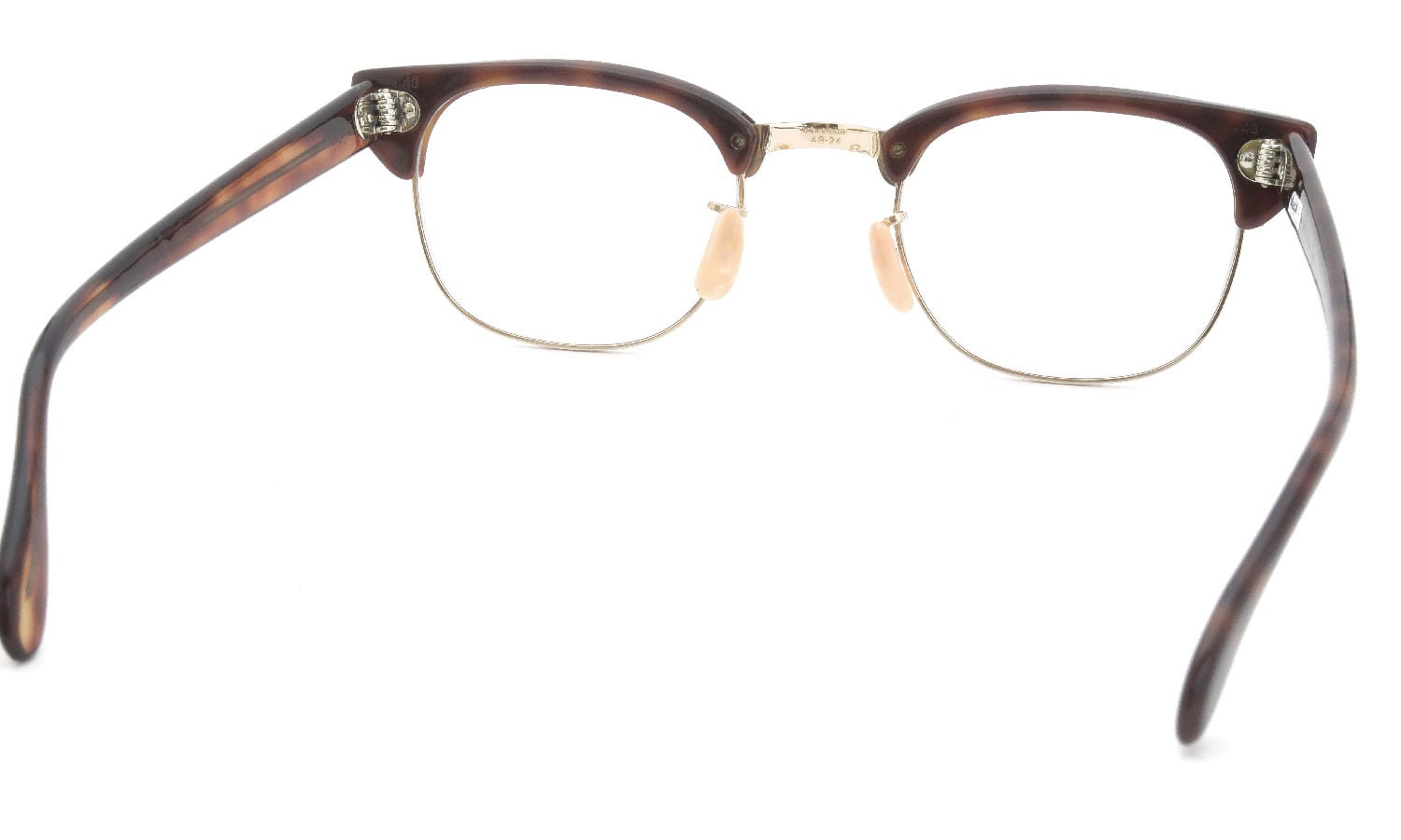 Universal Optical vintage 1950s-60s UOC600 Combination Brown/Gold 48-24 #8522