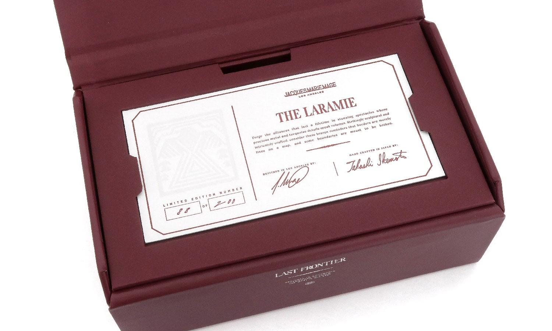 JACQUESMARIEMAGE LARAMIE NOIR JMMLR-01 88/200アイウェアボックス