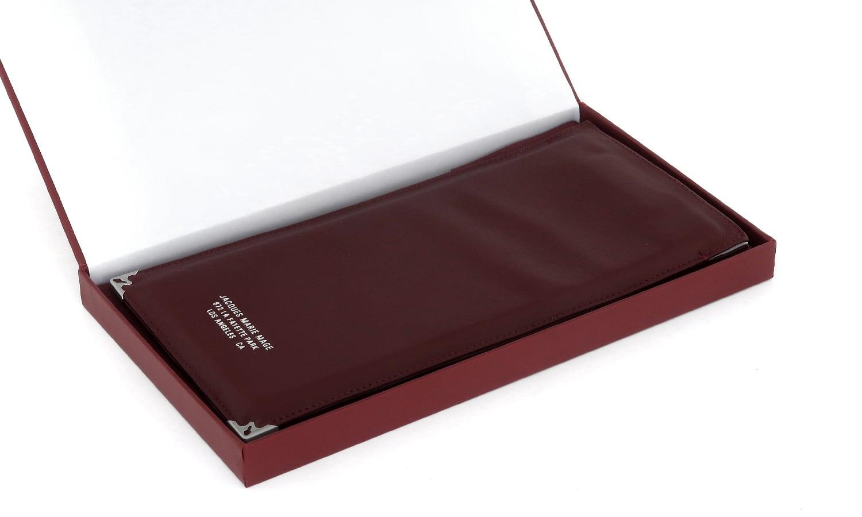 JACQUESMARIEMAGE SOFT POUCH Genuine-Leather Silver JMM-ACCS-015