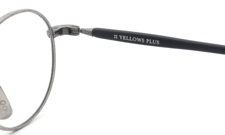 YELLOWS PLUS メガネ MILTON C13BK