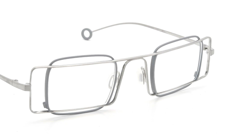 Arumamika クリップオンサングラスセット SYMPHONY SLGY/CLEAR-MIRROR-COAT