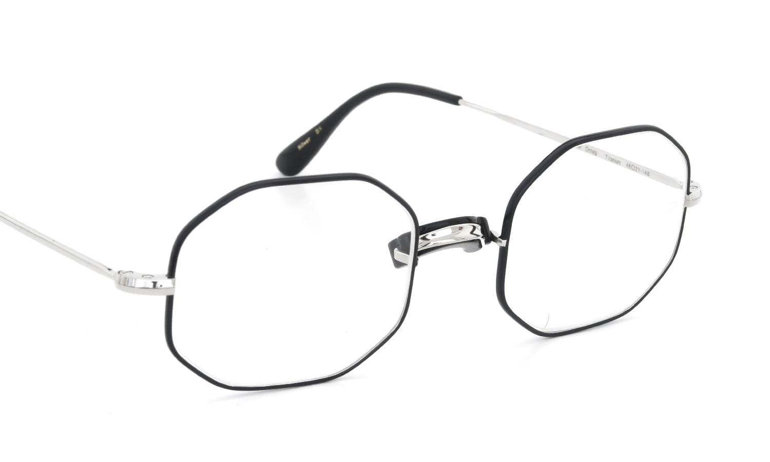 Oliver Goldsmith 海外モデル Oliver Octag with Pad Silver BK 48size
