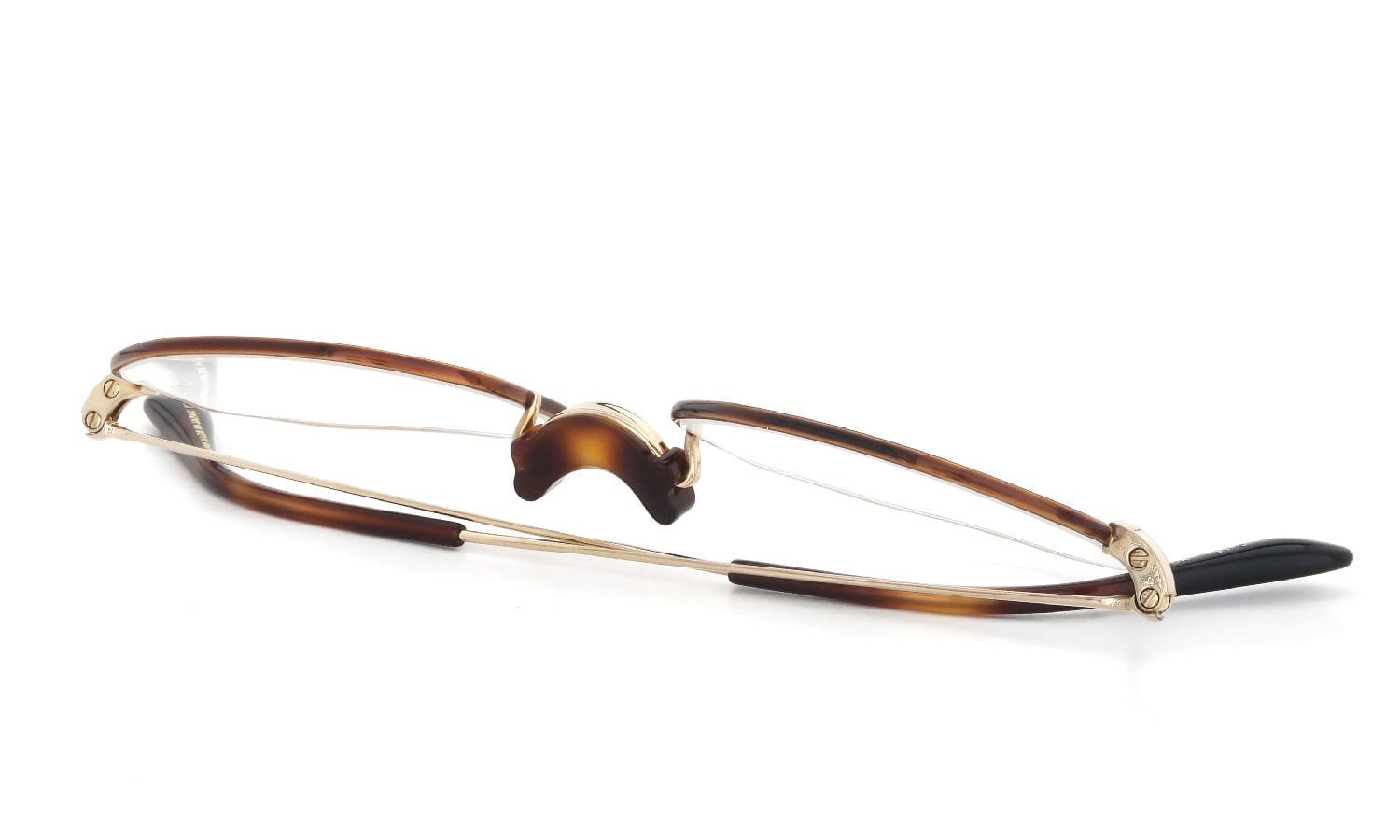 Oliver Goldsmith 海外モデル Oliver Octag with Pad Gold HB 48size