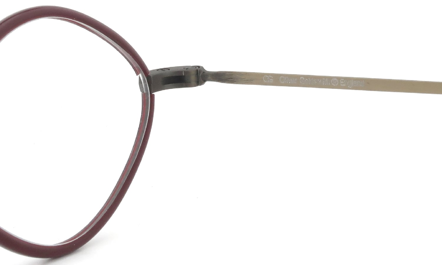 Oliver Goldsmith 海外モデル Diamond with Pad Antique Gold RD 48size