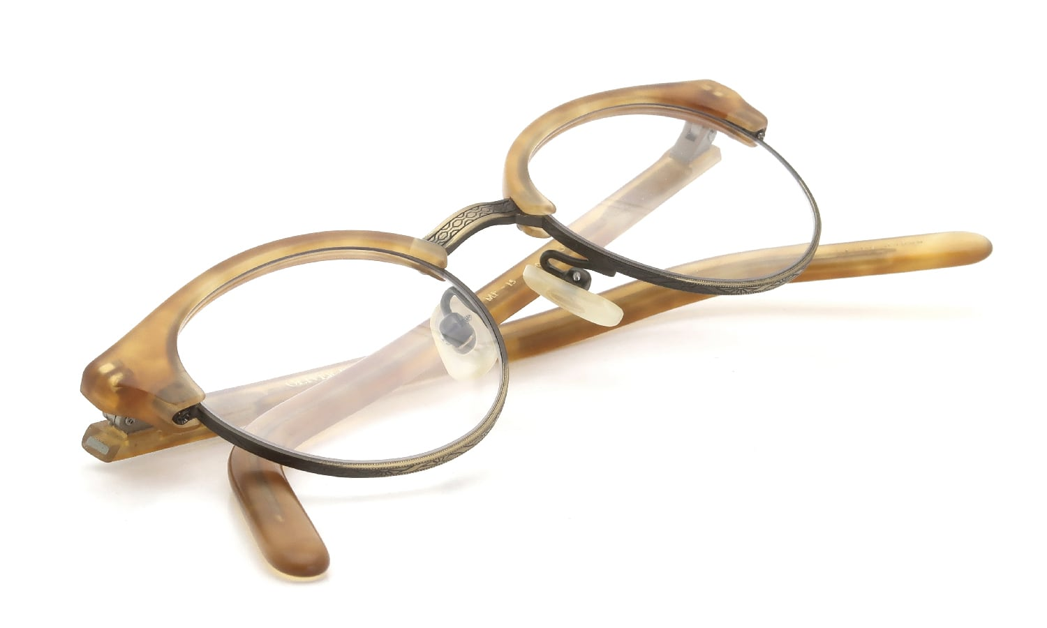 OLIVER PEOPLES 1990s MP-15 336/AG